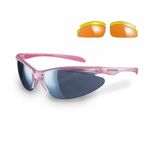 Sunwise Thirst Sports Sunglasses + 3 Lens Sets - Pearl Pink