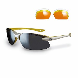 Sunwise Windrush Sports Sunglasses - White (supplied with 4 sets of lenses)