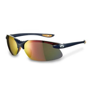 Sunwise Greenwich - Polarised, Water Repellent Sports Sunglasses - Navy