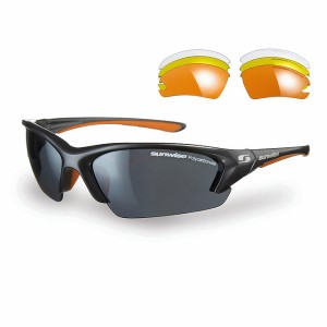 Sunwise Equinox Sports Sunglasses - Grey (supplied with 4 sets of lenses)
