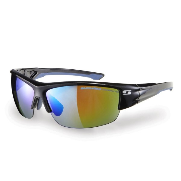 Sunwise Wellington - Photochromic (Light Reacting) Sunglasses - Black