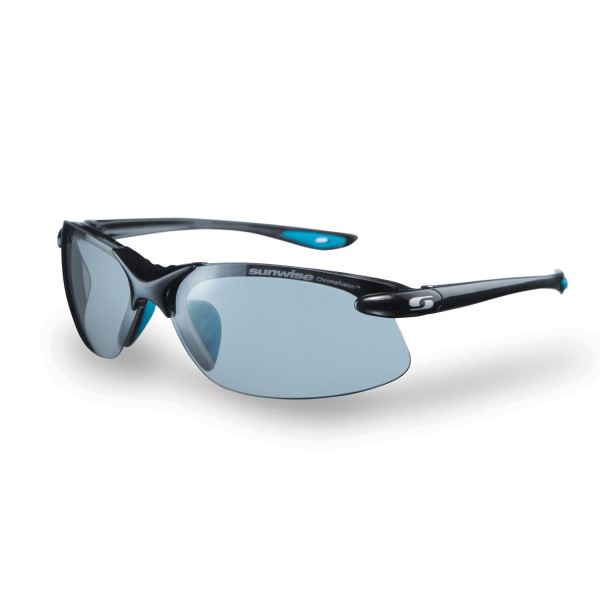 Sunwise Waterloo Photochromic (light reacting) Sunglasses - Chrome