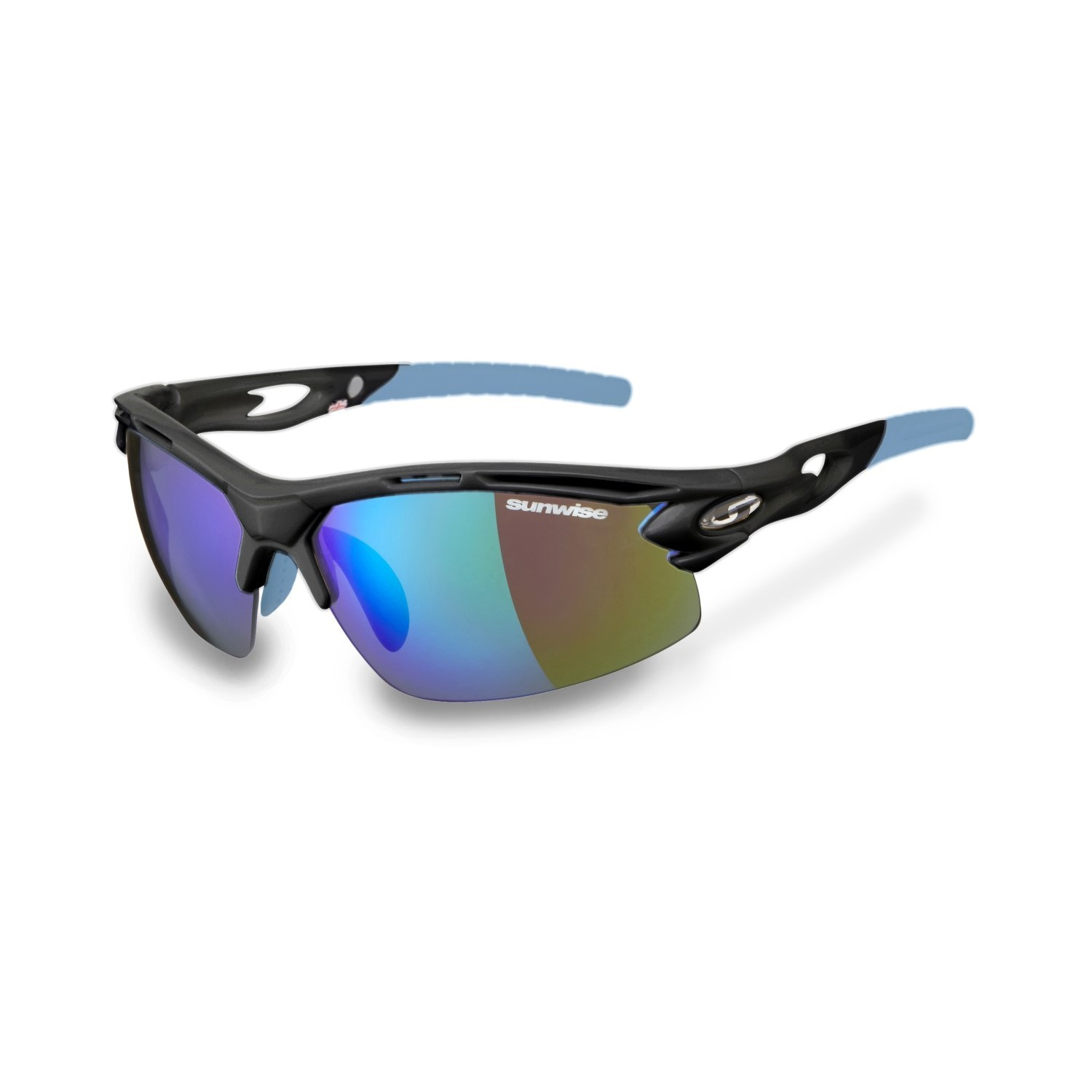 b67567f4ab Sunwise Vertex Optics Sports Sunglasses - Grey (Supplied with 4 sets of  lenses)