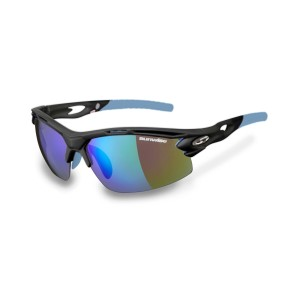 Sunwise Vertex Optics Sports Sunglasses - Grey (Supplied with 4 sets of lenses)