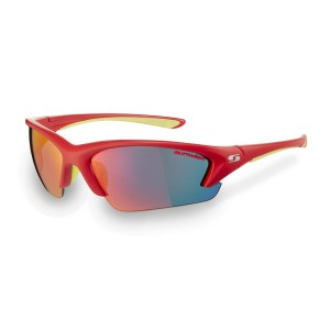Sunwise Equinox Sports Sunglasses - Red (Supplied with 4 pairs of lenses)