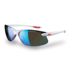 Sunwise Greenwich GS White - Polarised,  water repellent Sports Sunglasses