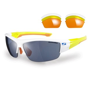 Sunwise Evenlode Sports Sunglasses + 4 Lens Sets - White