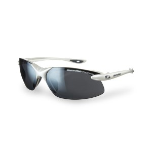 Sunwise Windrush Sports Sunglasses - All White (supplied with 4 sets of lenses)
