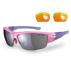 Sunwise Evenlode Sports Sunglasses - Pink (supplied with 4 sets of lenses)