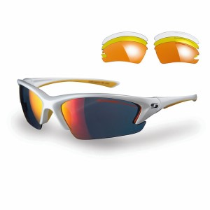 Sunwise Equinox Sports Sunglasses - White (supplied with 4 sets of lenses)