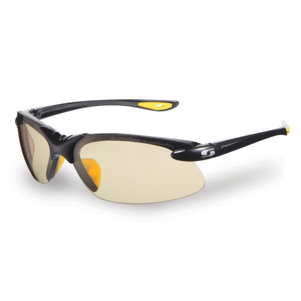 Sunwise Waterloo Photochromic (light reacting) Sunglasses - Black