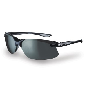 Sunwise Greenwich - Polarised, Water Repellent Sports Sunglasses - Black