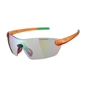 Sunwise Hastings Photochromic (light reacting) Sports Sunglasses - Fire