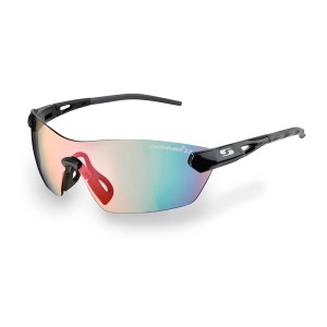 Sunwise Hastings Photochromic Sports Sunglasses - Black (with prescription RX inserts)