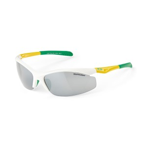 Sunwise Peak Sports Sunglasses - Aussie Green/Gold/White