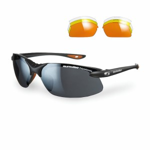 Sunwise Windrush Sports Sunglasses - Black (supplied with 4 sets of lenses)