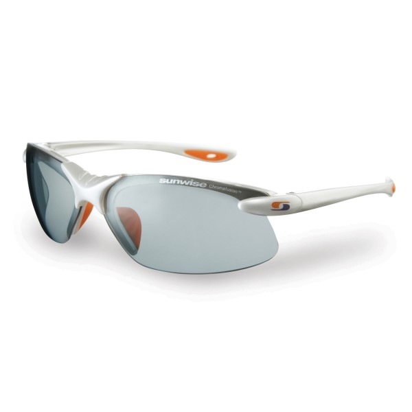 Sunwise Waterloo Photochromic (light reacting) Sunglasses - White