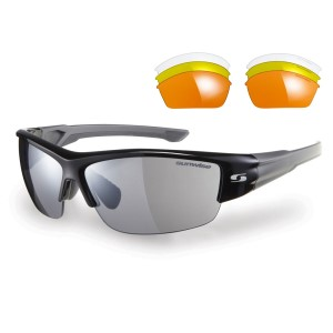 Sunwise Evenlode Sports Sunglasses - Black (supplied with 4 sets of lenses)