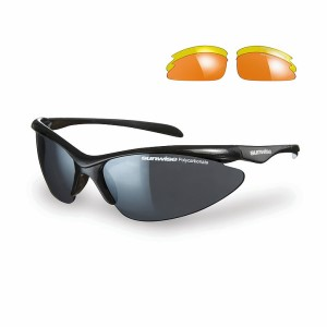 Sunwise Thirst Sports Sunglasses - Black (supplied with 3 sets of lenses)