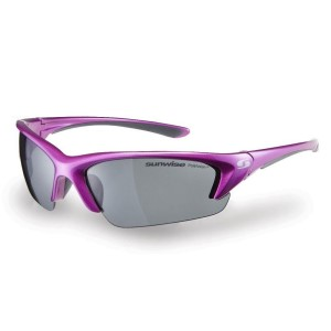 Sunwise Canary Wharf Polarised Sports Sunglasses - Pink/Grey