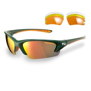 Sunwise Equinox Sports Sunglasses - Green (Supplied with 4 pairs of lenses)